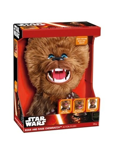 Star Wars Chewbacca 40cm Sesli Hareketli Peluş-Disney